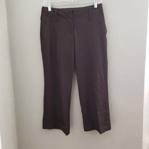 Michael Kors I Brown cropped 4 dress pants